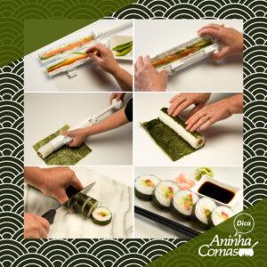 Dica da Aninha: Rolo para Sushi
