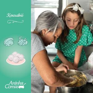 Receita da Aninha e da Memé: Kourabié