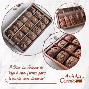 Dica da Aninha: Forma para Brownie