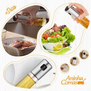 Dica da Aninha: Spray para Cozinha